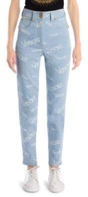 Versace Logo Jeans