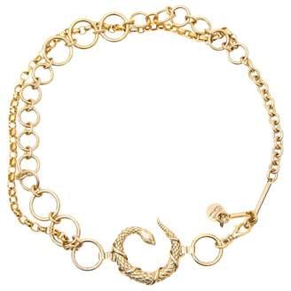 Roberto Cavalli Gold Metal Belts