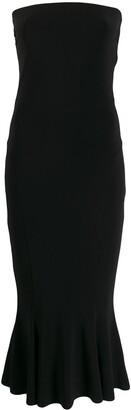 Norma Kamali strapless dress