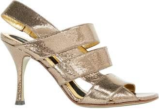 Pre-owned - Glitter sandals Dolce & Gabbana veGAi