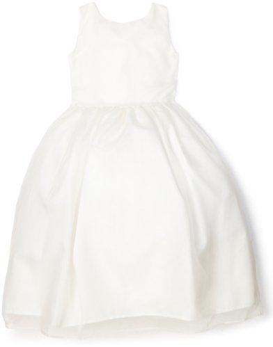 Us Angels Little Girls' Classic Organza Full Skirt Dress