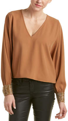 Sheri Bodell Crystal Cuff Top
