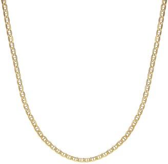 Everlasting Gold 14k Gold Marine Chain - 24 in.