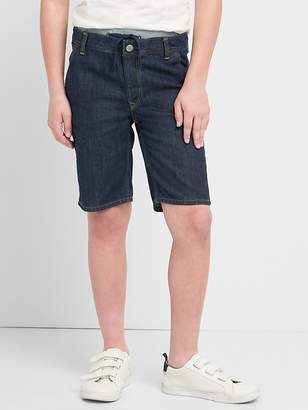 Gap for Good Ribbed-Waist Denim Shorts