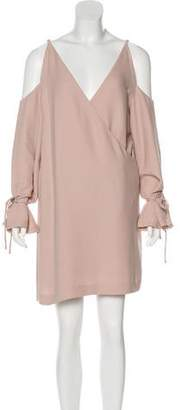 IRO Mini Cold-Shoulder Dress