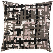 DwellStudio Painted Tweed Blush Throw Pillow
