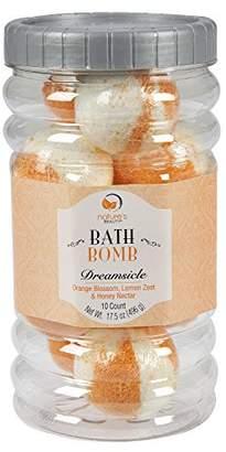 Nature's Beauty BATH BOMB Gift Set (Orange Blossom