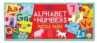 Eeboo Alphabet & Number Puzzle Pairs