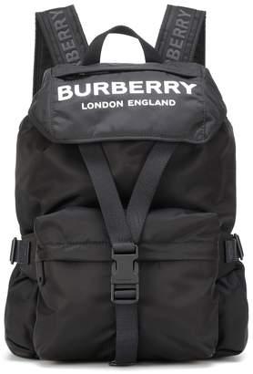 Burberry Logo nylon backpack