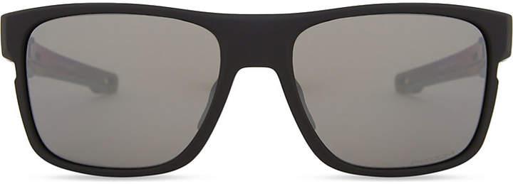 Oakley Crossrange PrizmTM square-frame sunglasses