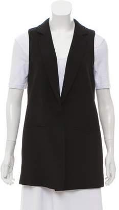 Elizabeth and James Notched-Lapel Blazer Vest
