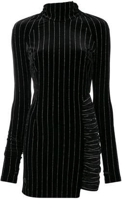 Philipp Plein pinstriped dress