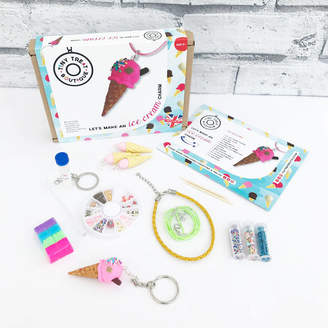 Tiny Treat Boutique Ice Cream Themed Jewellery Making Craft Kit