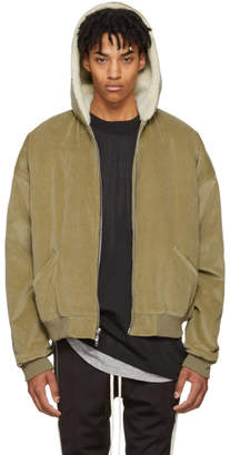 Fear Of God Tan Corduroy and Alpaca Jacket