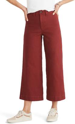 Madewell Emmett Crop Wide Leg Pants