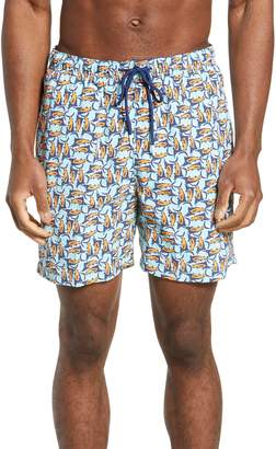 Tommy Bahama Naples Moorea Marlins Classic Fit Swim Trunks