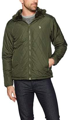 U.S. Polo Assn. Mens Standard Quilted Jacket