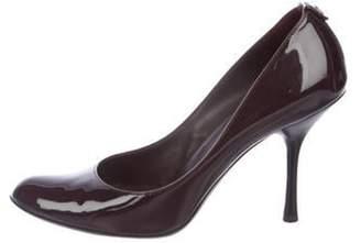 Gucci Patent Leather Round-Toe Pumps Patent Leather Round-Toe Pumps