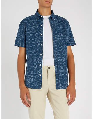 Polo Ralph Lauren Star-print short-sleeved cotton shirt