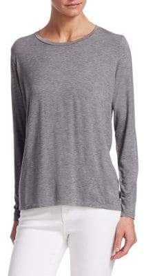 Majestic Filatures Soft-Touch Pleated Back Tee