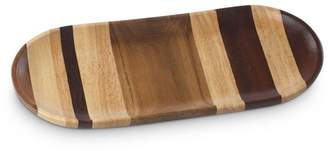 Dansk Signy Striped Wood Large Tray - 100% Exclusive
