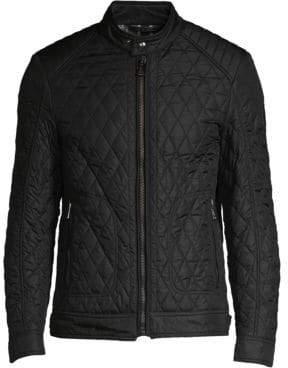 Belstaff Men's Bramley 2.0 Quilted Jacket - Black - Size 54 (44)