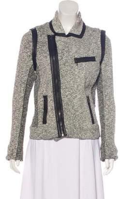 Rag & Bone Long Sleeve Zip-Up Jacket