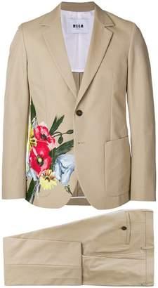 MSGM floral design suit