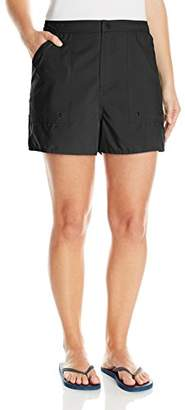 Maxine Of Hollywood Women's Plus-Size Woven Board Shorts