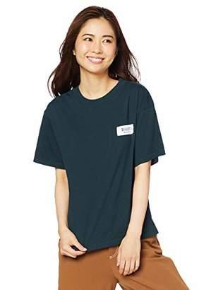 Snidel (スナイデル) - [スナイデル] ロゴテープTシャツ SWCT193316 レディース GRN 日本 F (FREE サイズ)