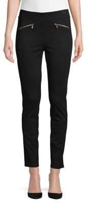 Karl Lagerfeld Paris Skinny-Leg Ankle Pants