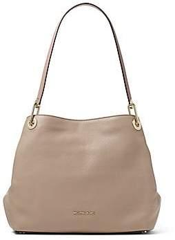 a15de02db548 MICHAEL Michael Kors Women's Raven Large Pebbled Leather Shoulder Bag