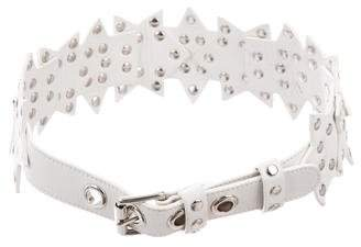 Temperley London Leather Studded Belt
