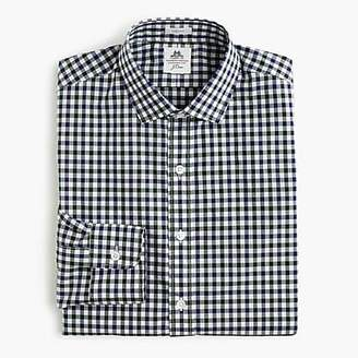 J.Crew Thomas Mason® for Ludlow shirt in green tattersall