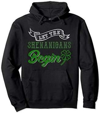 DAY Birger et Mikkelsen Let The Shenanagins Begin St Patricks 2018 Hoodie Outfit