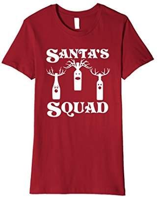 Wine Christmas Shirt Santas Squad Christmas Wine T Shirt