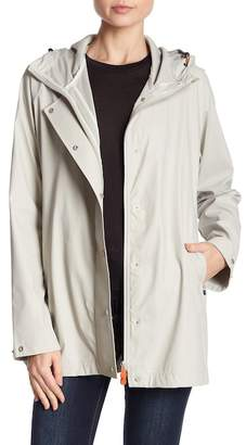 Save The Duck Snap Button Raincoat