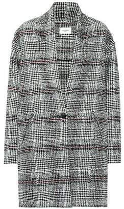 Etoile Isabel Marant Isabel Marant, Étoile Eabrie checked wool-blend coat