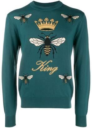 Dolce & Gabbana king bee sweater