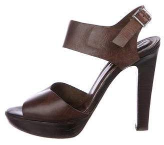 6eacdd754d9 Pre-Owned at TheRealReal · Marni Leather Ankle-Strap Sandals
