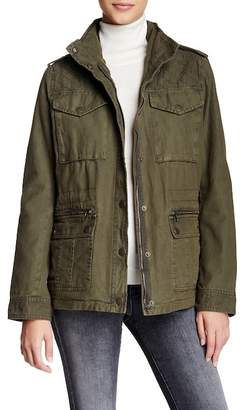 Levi's Quilted Yoke Military Jacket $180 thestylecure.com