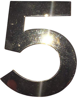 One Kings Lane Vintage Chanel Number 5 Signature Pin - Treasure Trove NYC