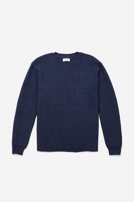 Saturdays NYC Lee Window Pane Sweater