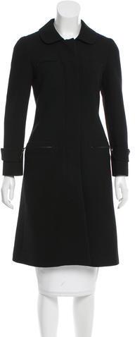 pradaPrada Knee-Length Wool Coat