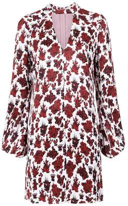 Tufi Duek foliage print shift dress
