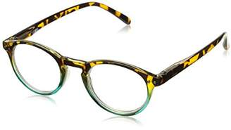 Peepers Unisex-Adult Book Club 934400 Round Reading Glasses