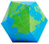 Areaware NEW dymaxion folding globe by Until