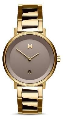 MVMT Signature II Gold-Tone Watch, 34mm