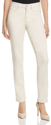 NYDJ Sheri Slim Super Sculpt Jeans in Cream $114 thestylecure.com