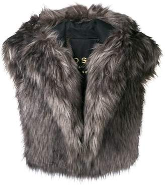 Philosophy di Lorenzo Serafini faux fur vest